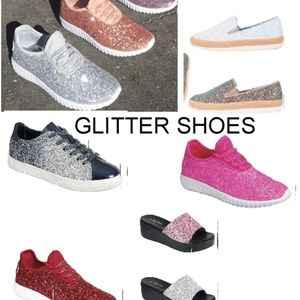 GLITTER SNEAKERS AND SANDALS & MORE GREAT ITEMS